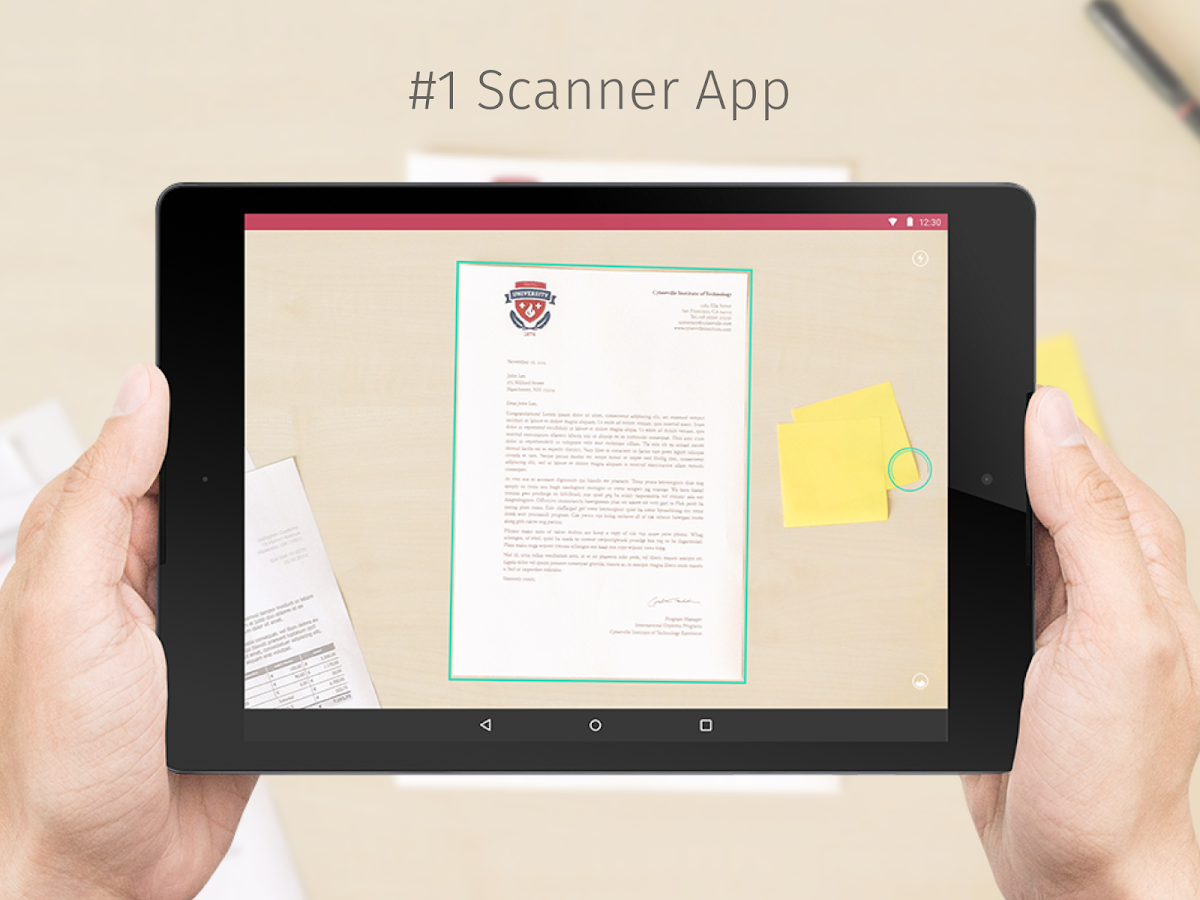 scanbot how to save as pdf