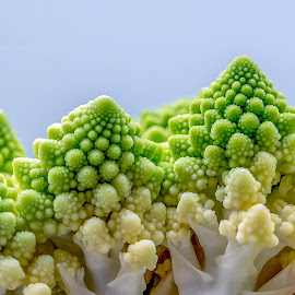 Romanesco Cauliflower by Adele Price - Food & Drink Fruits & Vegetables ( romanesco, cauliflower, green, texture, patterns, broccoli, vegetables,  )
