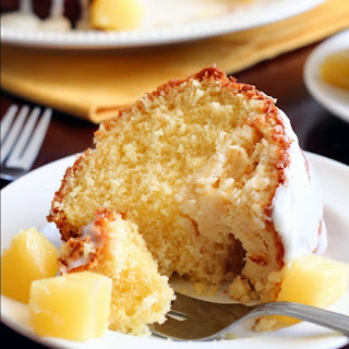 Pineapple Cheesecake Cake