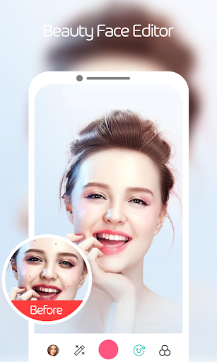 HD Beauty Selfie - Sweet cam Selfie Camera Editor 1.4 screenshots 1