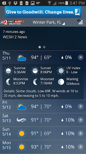 WESH 2 First Alert Weather screenshot 3