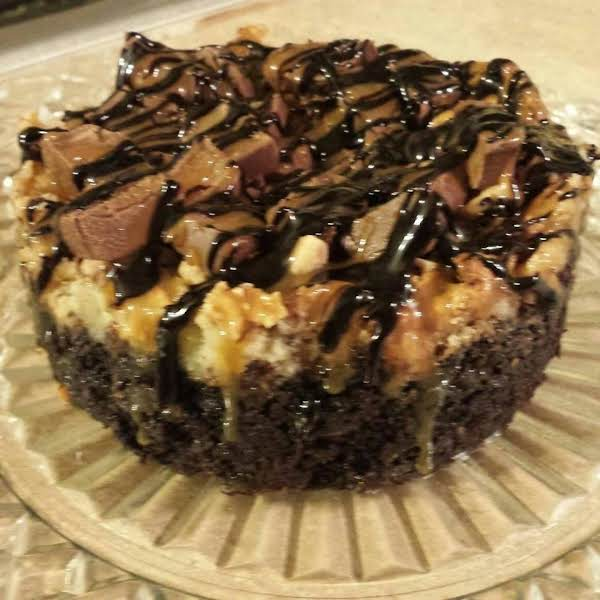 Chocolate Caramel Toffee Gooey Butter Cake Recipe