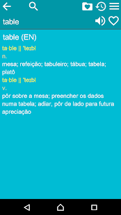 English Portuguese Dict Free- screenshot thumbnail