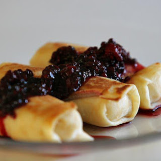 Blueberry Blintz.