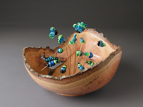 Photo: La Fontano de vettro Kent Townsend, turner Sara LaGrand, beadmaker