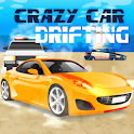 Crazy Car Drifting – Police chase game icon