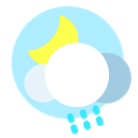 Real time temperature-Live Weather radar forecast icon