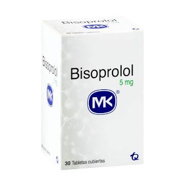 Bisoprolol MK 5mg Caja X   30Tab Bisoprolol Fumarato