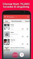 Screenshot of Red Karaoke Sing & Record