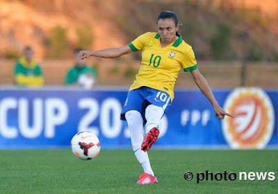Een pijnlijke nederlaag voor het vrouwenelftal van Brazlië tegen... 15-jarigen van Braziliaanse eersteklasser