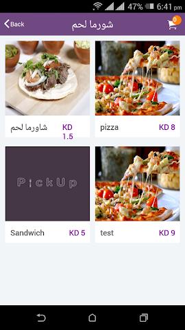 android PickUp Screenshot 1