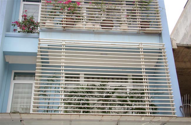 lưới bảo vệ ban công chung cư