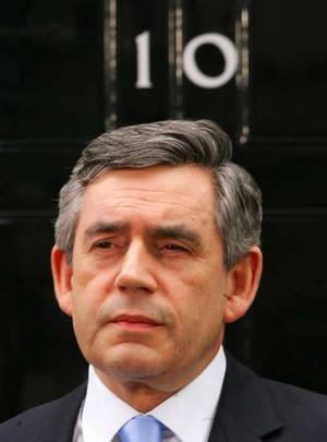 Gordon at Number 10