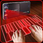 Hologram Piano Prank Icon