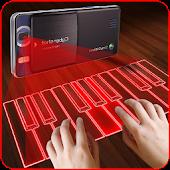 Hologram Piano Prank