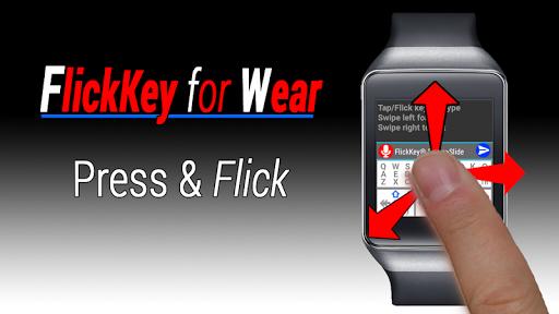 FlickKey Keyboard for Wear