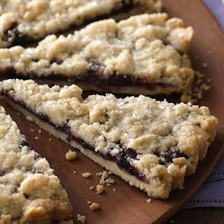 Berry Filled Shortbread Brunch Tart.