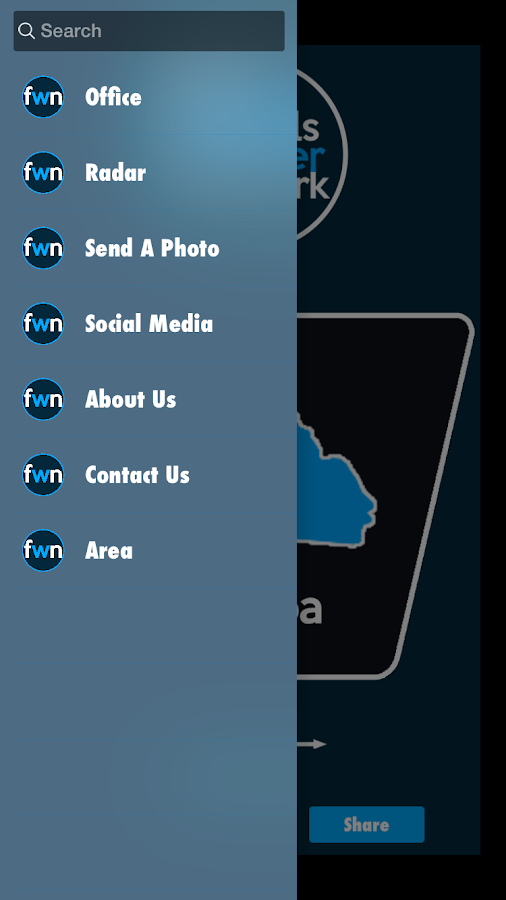 Foothills Weather Network- screenshot