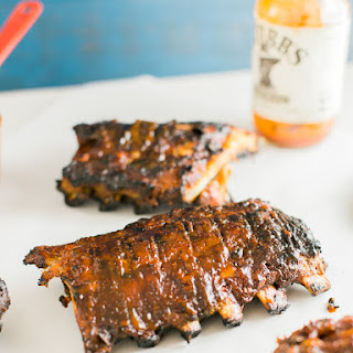 Blazin Hot Habanero Apricot Barbecue Ribs