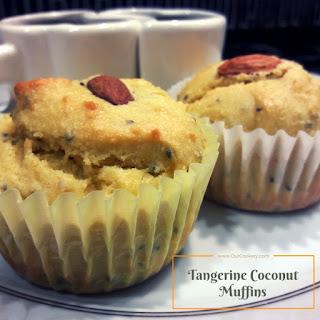 Tangerine Coconut Breakfast Muffins Recipe