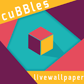 3D Cubes Live Wallpaper Free