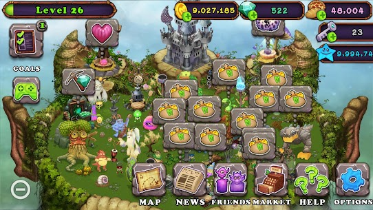 My Singing Monsters MOD 2.1.9 (Unlimited Money) Apk 6