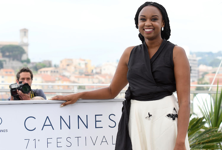 'Rafiki' director Wanuri Kahiu at the 2018 Cannes Film Festival