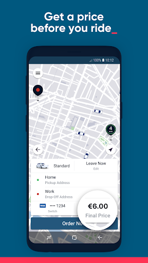 Kapten - Fast & affordable ride-hailing - screenshot