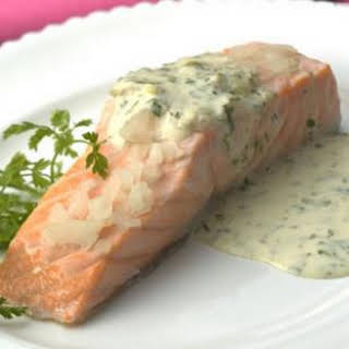 Oven-Poached Salmon Fillets.