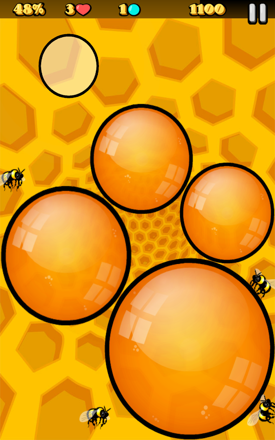 Bees Gone Bonkers- screenshot