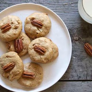 Maple Pecan Protein Cookies