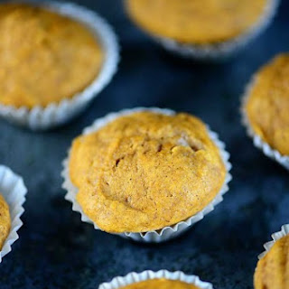 Simple Pumpkin Muffins.