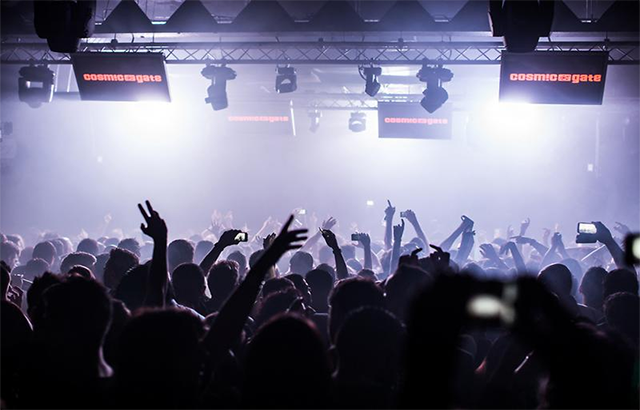 Sala The Box llena de gente en Ministry of Sound