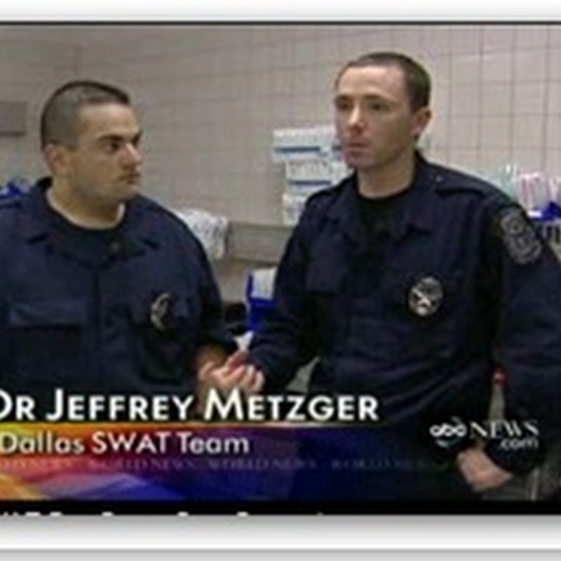 Swat Doc:  Doctor in Bulletproof Vest Saves Cop