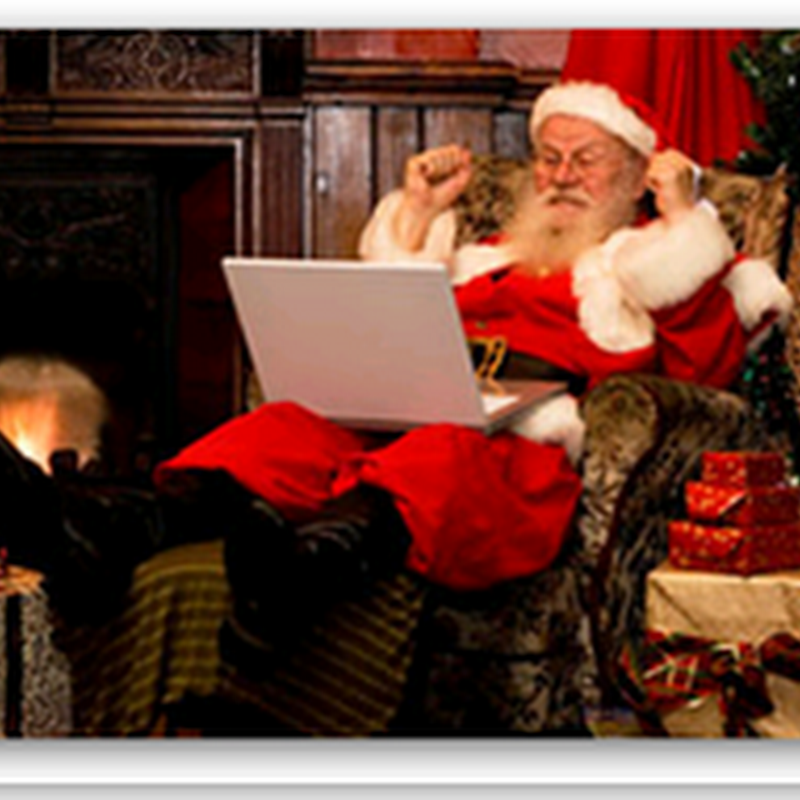 Optimizing Santa - 150 Computer Clicks Per Family Saves Him A Lot Of Travel