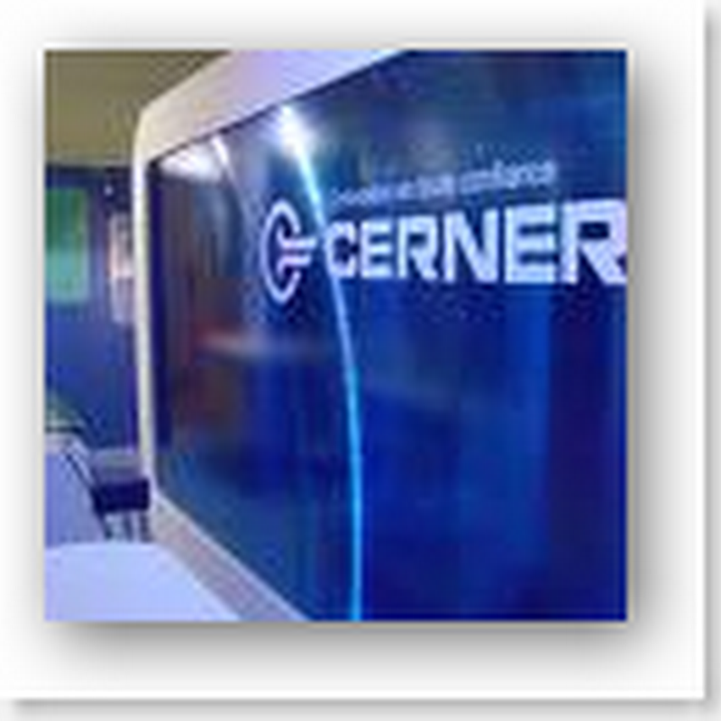 New Microsoft direction in Health Care - Partners with Cerner and the Patient gets to play X-Box