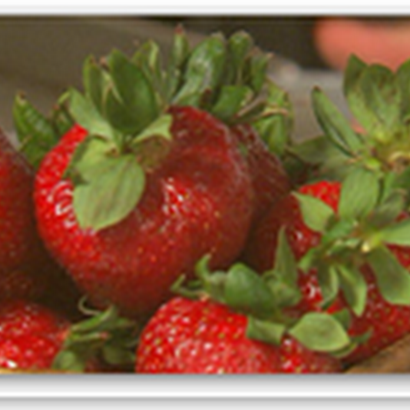 Study showing Strawberries help reduce the risk of Cardiovascular Disease