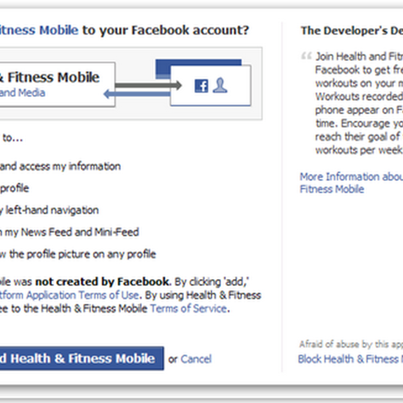 Facebook Based Mobile Fitness Hits Ground Running