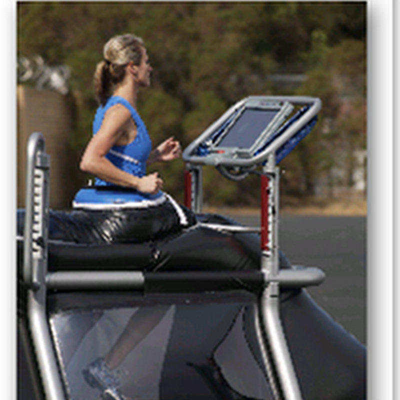 "G-Trainer ""anti-gravity"" treadmill gets approved by the FDA"