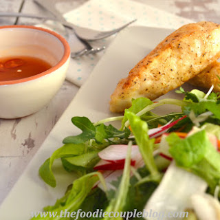 Salt and Pepper Cod with Hot & Sour Salad
