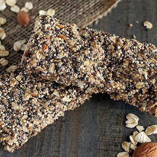 Quinoa Chia Seed Protein Bars Recipe