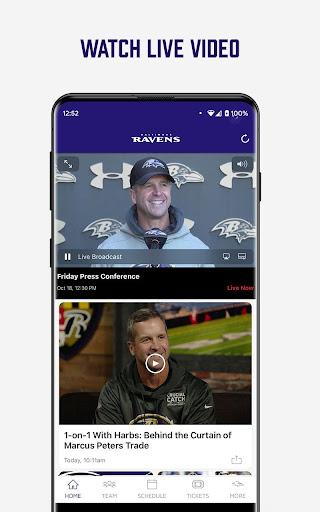 Baltimore Ravens Mobile screenshot 8