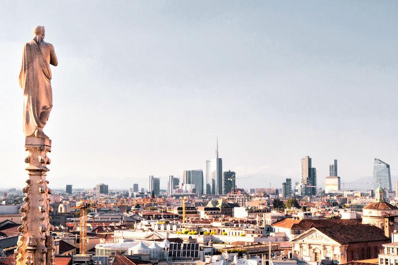 Dal tetto del Duomo di ManuZ