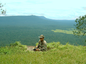 Photo: Forest ranger at Khao Laem peak
