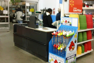 Photo: My secret for avoiding long checkout lines? We usually check out at the garden center. Tonight there were no lines .