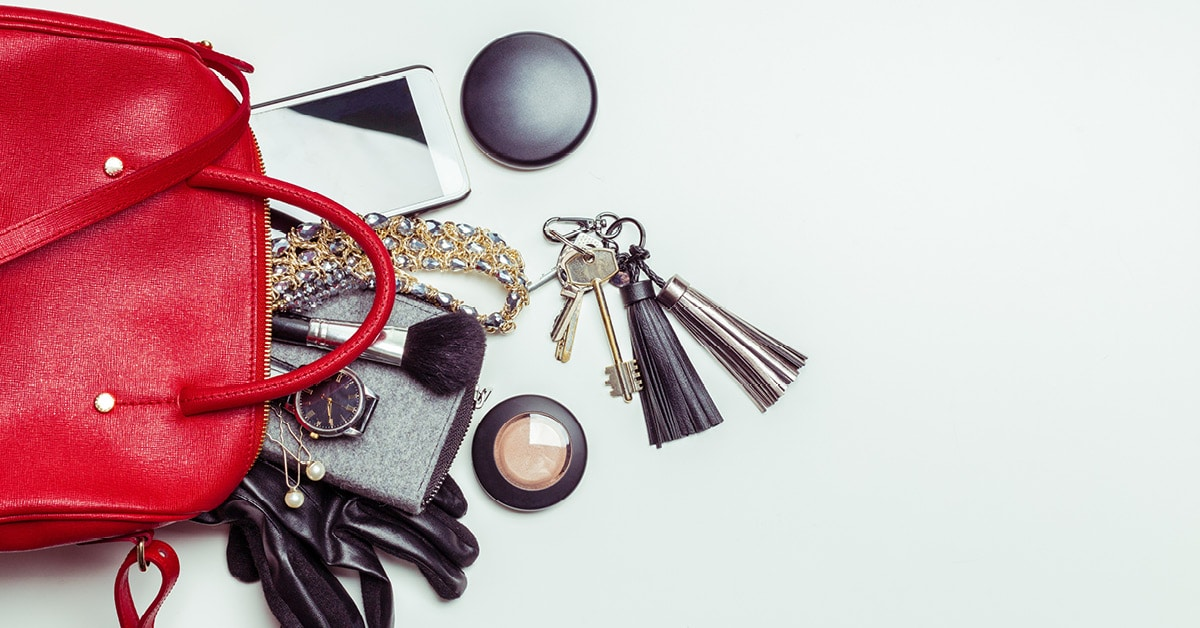 Image of Items in a Purse