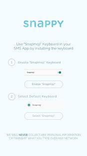 Snappy Emoji Keyboard - náhled