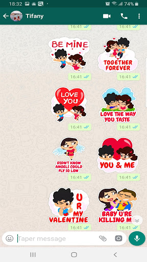 Love Stickers For Whatsapp 2019 App Report On Mobile Action
