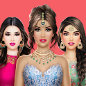 Indian Fashion Dressup Stylist icon
