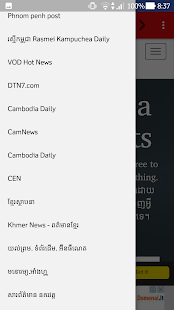 Cambodia News and Radio ព័ត៌មាននិងវិទ្យុកម្ពុជា - náhled